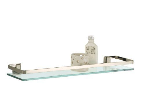 Organize It All Wall Mounting Glass Shelf with Nickle Finish and Rail by Organize It All, http://www.amazon.com/dp/B0028P2F2G/ref=cm_sw_r_pi_dp_GB8Mqb08SNEV9