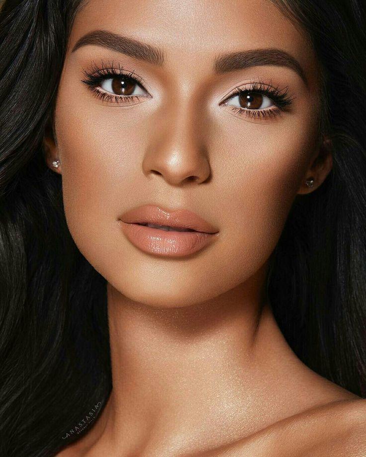#Lipcolors   Black girl makeup, Dark skin beauty, Glossy lips