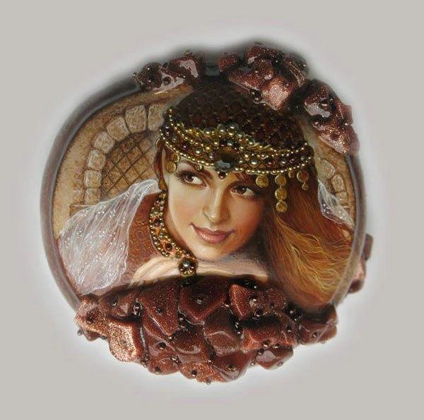 Сказочные работы Светланы Беловодовой. Svetlana Belovodova- Fedoskino
