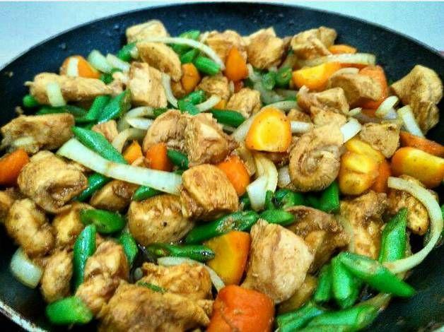 Resep Tumis Ayam Buncis Wortel Eat Clean Series Oleh Kania Yanitama Resep Tumis Wortel Resep