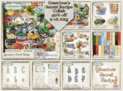 Grandma's Secret Recipe Collab   Bundle