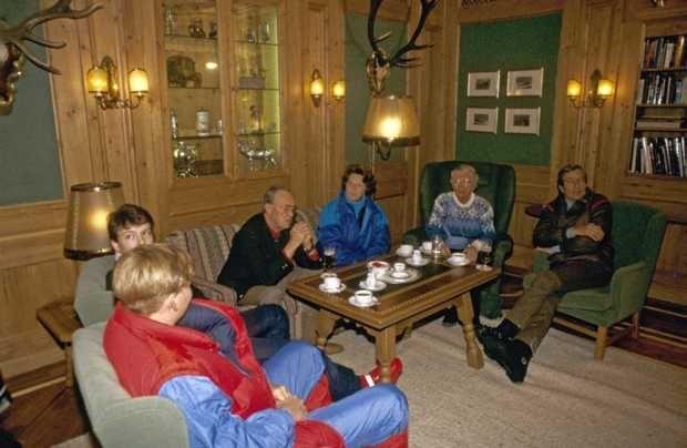 ANP Historisch Archief Community - Familie - Wintervakantie - Gouden Huwelijk