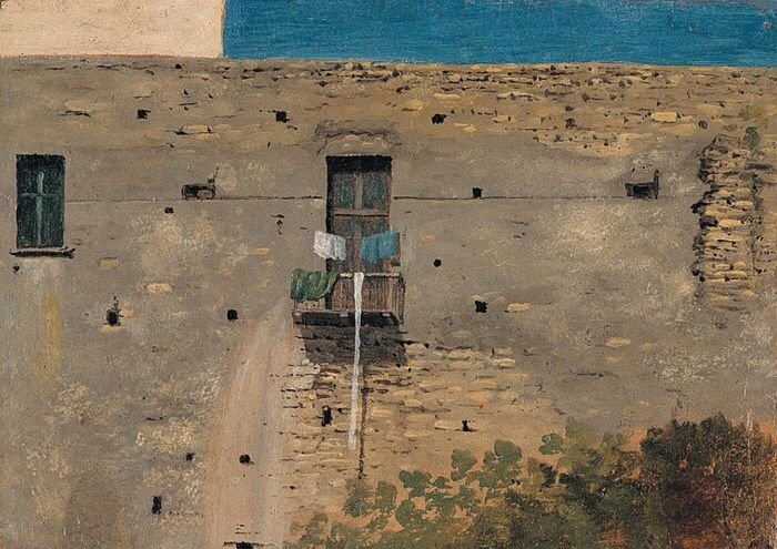 Thomas Jones, A Wall in Naples