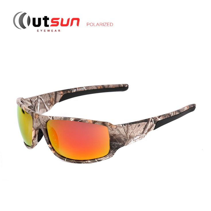 OUTSUN Top Sport Driving Fishing Sun Glasses Camouflage Frame Polarized Sunglasses Men/Women Brand Designer De Sol Oh Yeah #shop #beauty #Woman's fashion #Products #Classes