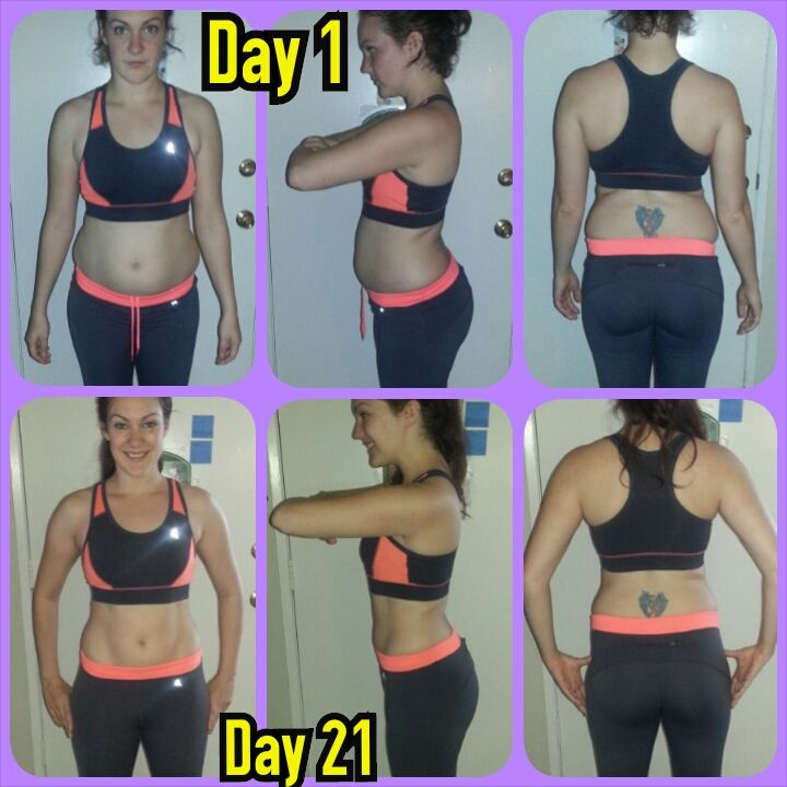 Before And After Weight Loss 21 Day Fix: 21 Day Fix Vs 21