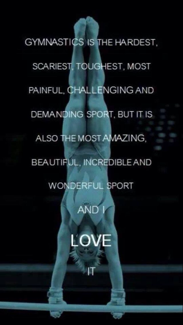 The truth about gymnastics