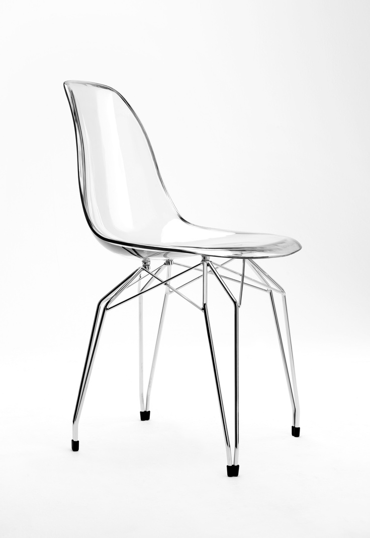 Delightful Polycarbonate Furniture. Diamond Chair Polycarbonate Shell In Clear  Transparent, Smoke, Black Or White