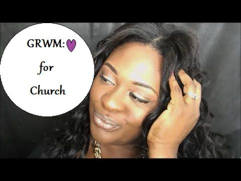 GRWM for Church | Makeup | Hair |Jewlery