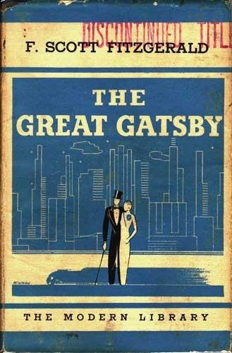 The Great Gatsby blue old novel F. Scott Fitzgerald