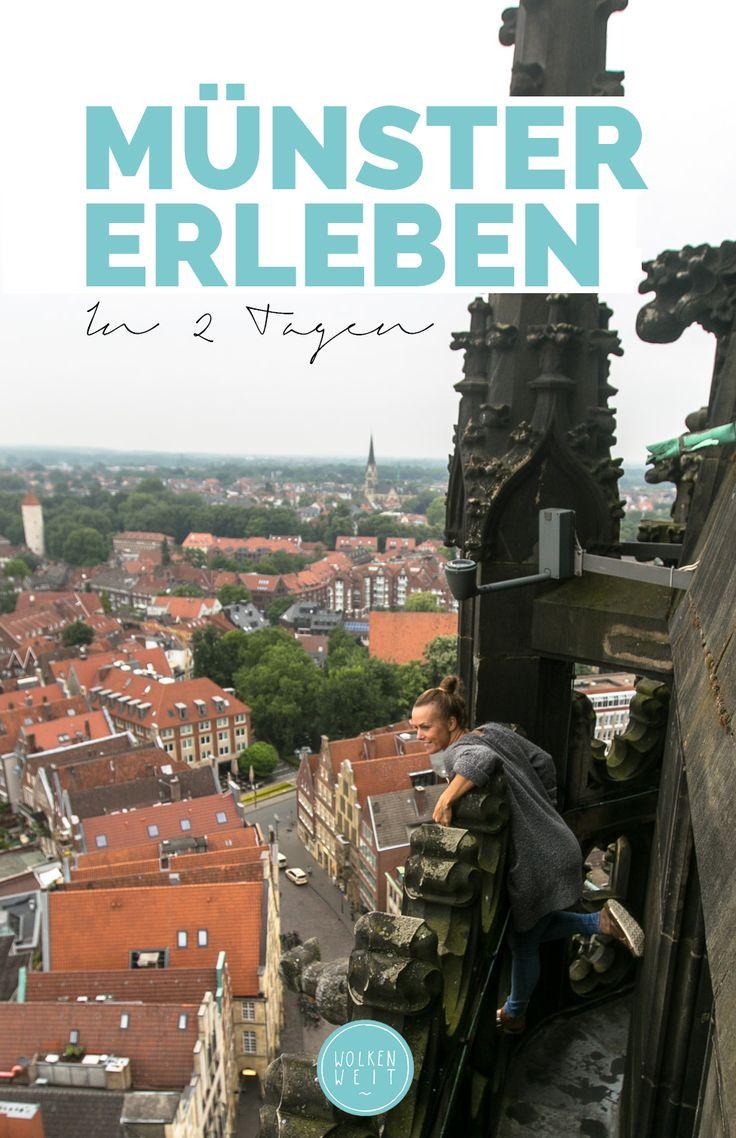 Münster erleben – in zwei Tagen. Die besten Sehenswürdigkeiten, Highlights & Insidertipps für die lebenswerteste Stadt Deutschlands.