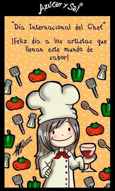 Dia internacional del Chef                                                                                                                            Más