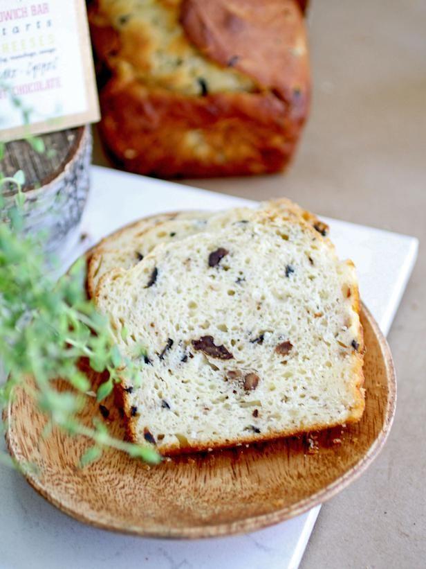 Walnut-Rosemary Olive Bread Recipe - on HGTV