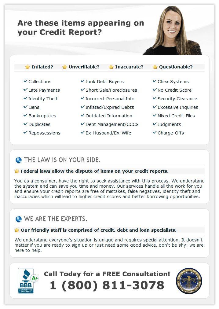 Credit Repair Services --- A+ BBB / Local Office Credit Repair SECRETS Exposed Here!