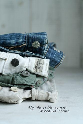 jeans&cargo pants