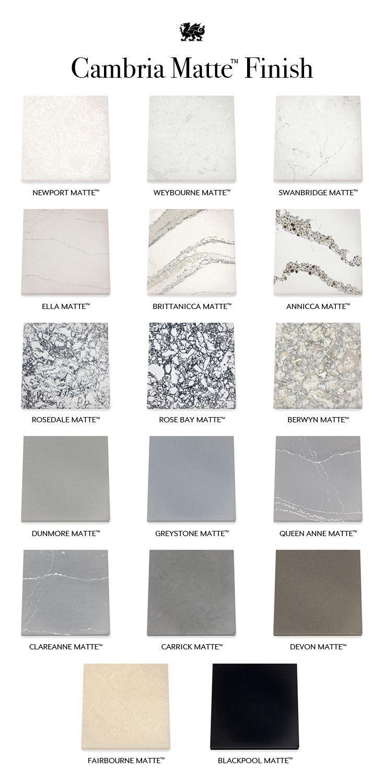 Cambria Matte In 2020 Kitchen Countertops Master Bathroom Design Countertops