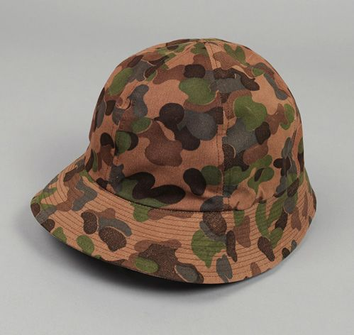 WASTE(TWICE): Reversible Hunting Hat, Camouflage