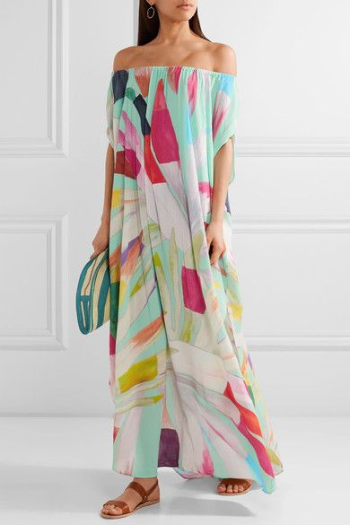 Multicolored textured-crepe Slips on 100% viscose Dry clean Imported