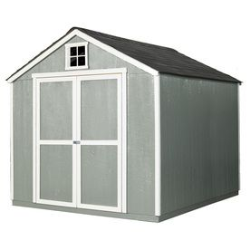 Heartland Value Gable Engineered Wood Storage Shed (Common: 8-Ft X 10-