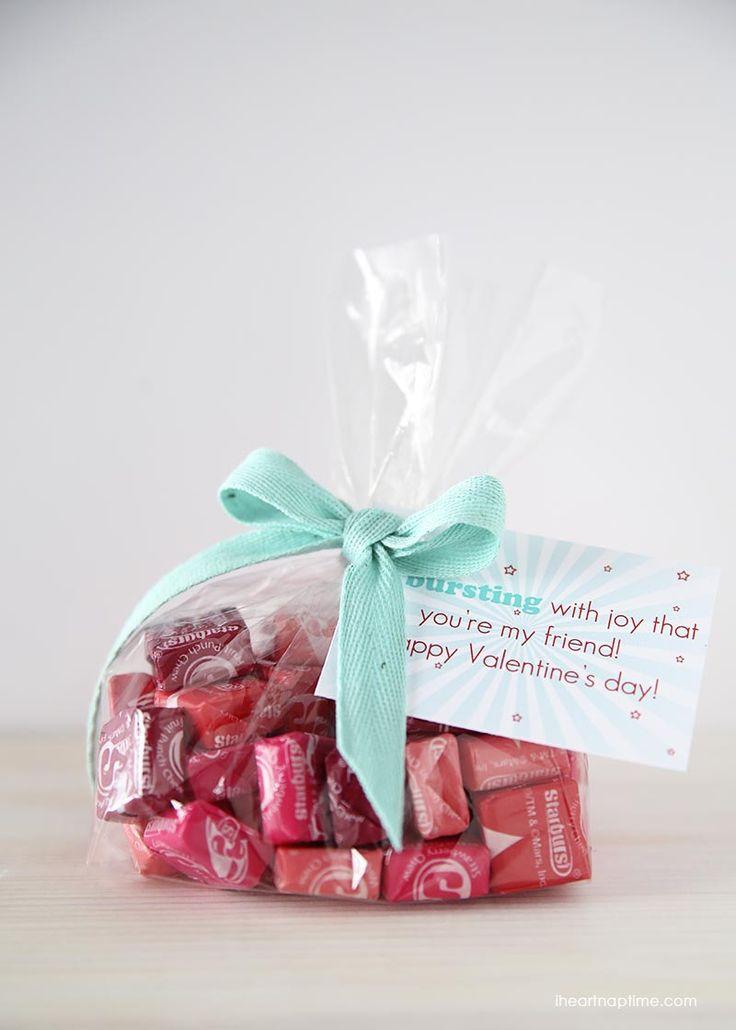 Starburst Valentines on iheartnaptime.com