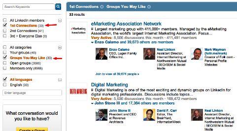 *5 Tips to build and grow your LinkedIn Network*Linkedin Network, Learning Keys, Group Search, Social Media, Keys Engagement, Media Marketing, Digital Media, Engagement Strategies