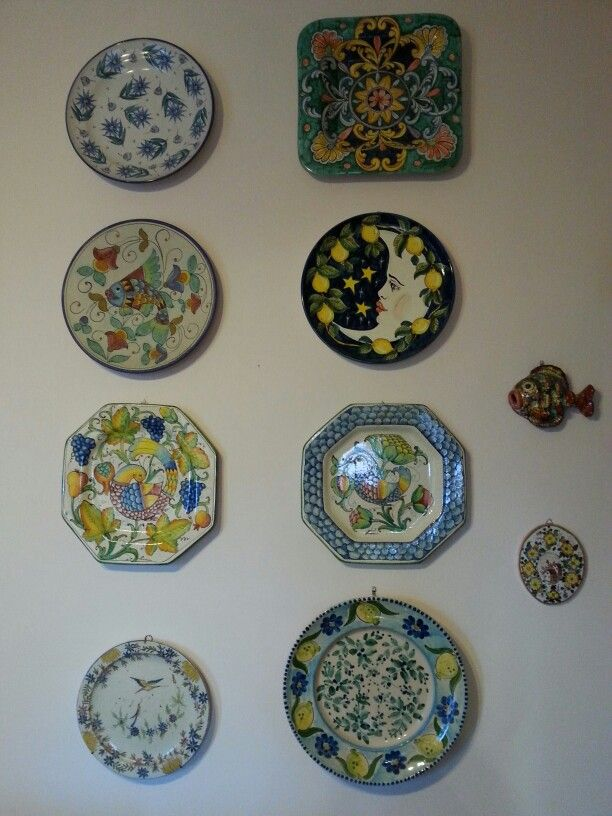 96 fantastiche immagini su decorative plates su pinterest - Ceramiche decorative ...