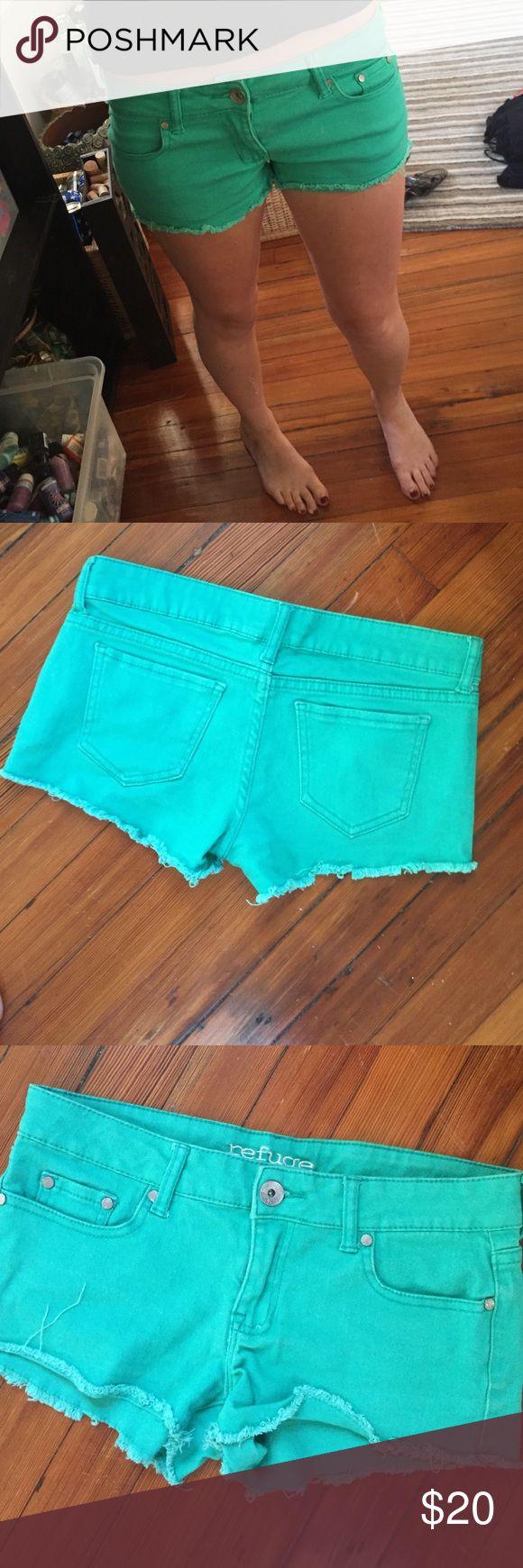 Daisy duke shorts Frayed colored daisy duke shorts Charlotte Russe Shorts Jean Shorts