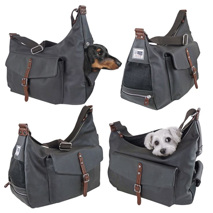 Pet Sling Carrier Bag by MICRO POOCH™ - Dog Purse, Dog Sling Carrier, Chihuahua, チワワ ドッグキャリー, сумка для собак.