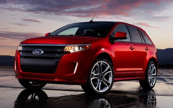 2012 Ford Edge.. not a truck/suv kinda person but if I was to get one I would get this.