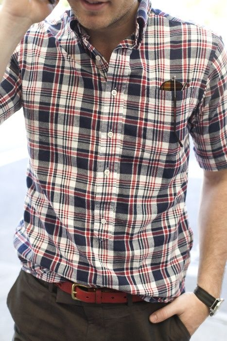 "Men can still rock ""the plaid"""
