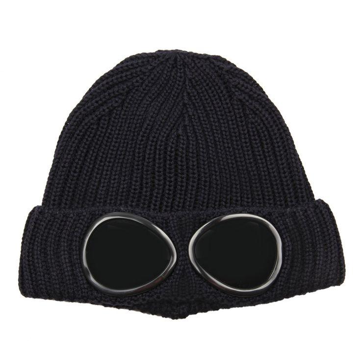 CP COMPANY Goggle Hat - Navy