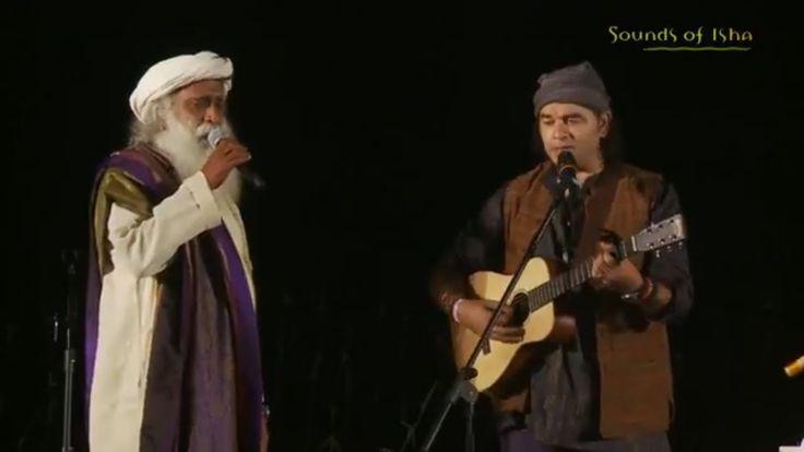"""Sadhguru's Duet with Mohit Chauhan - """"Shiv Kailasho ke Wasi"""""""