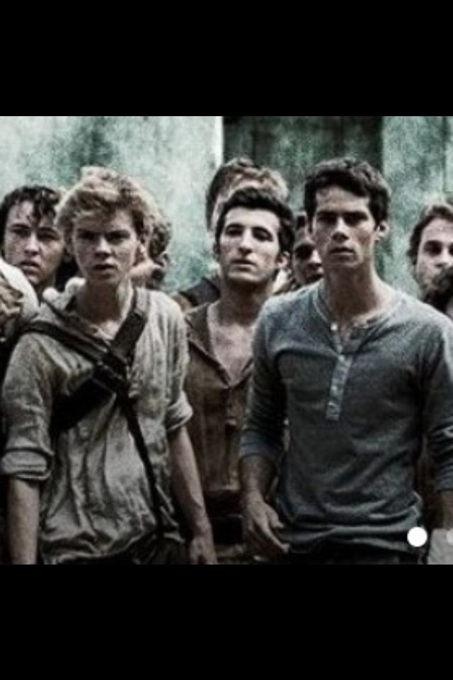 Newt. Thomas. TMR.<<<i just saw the movie it was so awesome i had alot of fun (i also read the book)