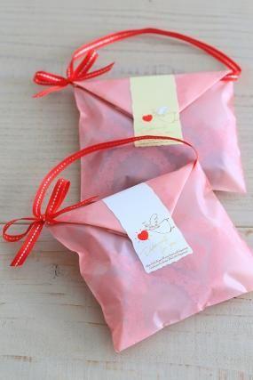 「プチギフト」お菓子教室SweetRibbonが提案する簡単かわいいお菓子ラッピング | お菓子・パンのレシピや作り方【corecle*コレクル】