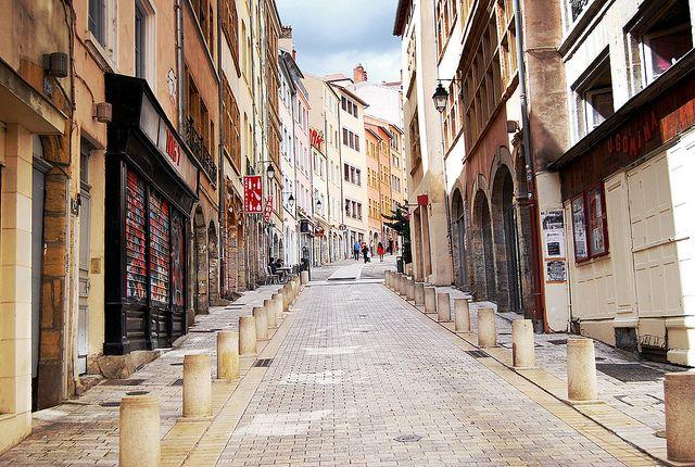 Montée de la Grande Côte, Croix-Rousse, Lyon, France