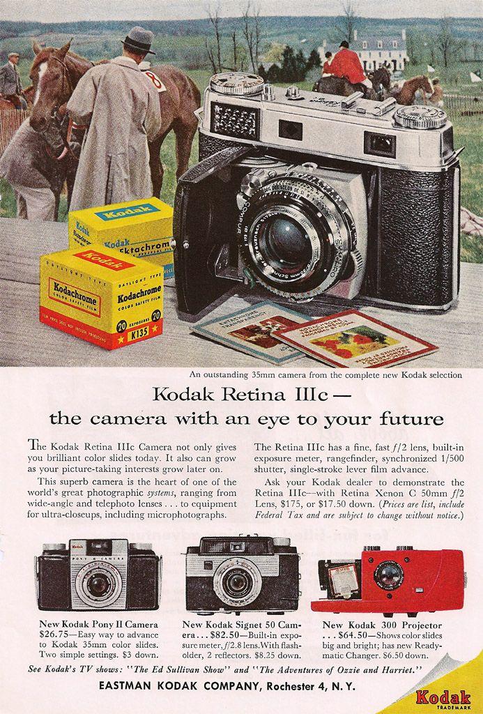 Kodak Retina IIIc Ad | by Casual Camera Collector