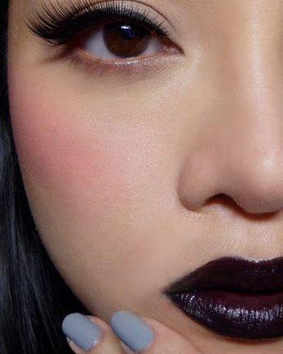 Tip: how to rock dark lipstick!