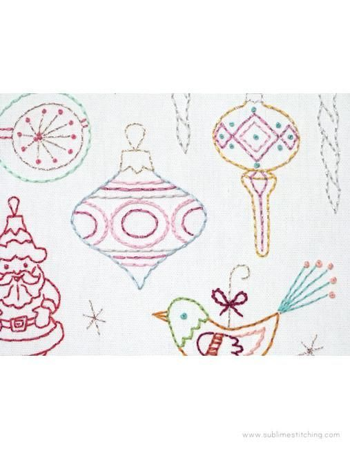 Vintage Ornaments | paper embroidery | Pinterest