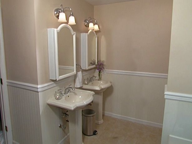 74 best images about wainscoting on pinterest - How to install beadboard in a bathroom ...