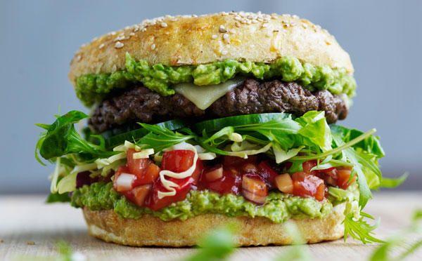 Sæsons ultimative burger