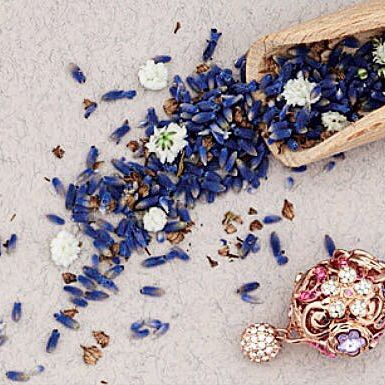 Our beautiful #Botanical collection is now back in stock!   #BillSkinner #Lavender #floraljewellery #swarovski