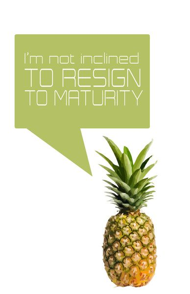 psych tv show... im not inclined to resign to maturity Art Print by studiomarshallarts   Society6