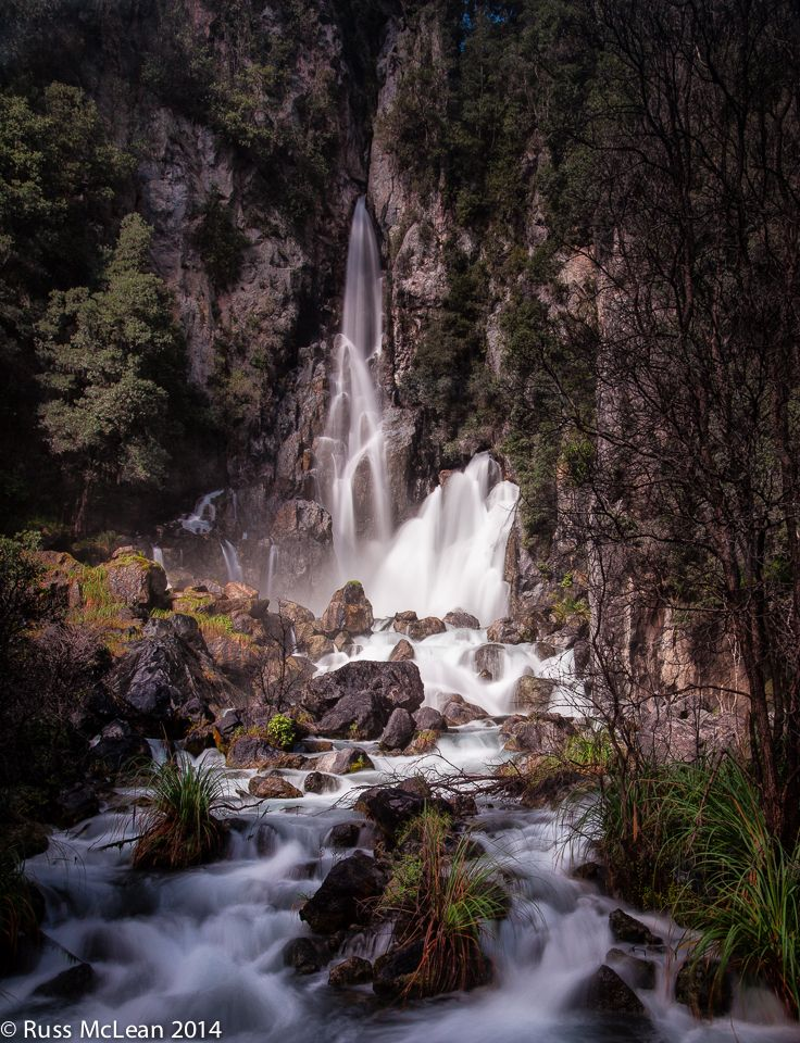 """Tarawera Falls"" in the Bay of Plenty in the North Island of NZ. ""Natural beauty is both universal & unique."" (Chris Orwig) Universal in that it is ever present around us - unique in the way an individual perceives & responds."