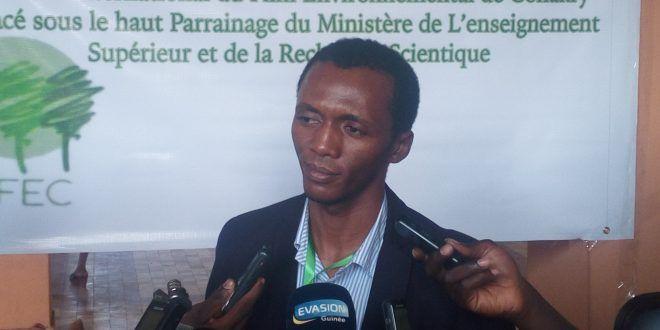 Festival International du Film Environnemental de Conakry (FIFEC): selon le ministre Yéro Baldé «ce festival vient accompagner le prof Alpha CONDE pour protéger l'environnement et de lutter contre le réchauffement climatique»