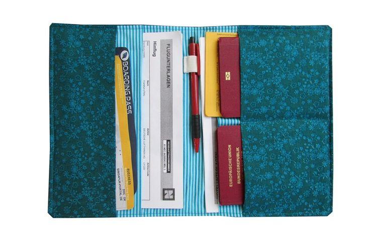 Reiseetui Taschenorganizer Reisepasshülle Reise unterwegs Urlaub Utensilien Mappe von NoGo!