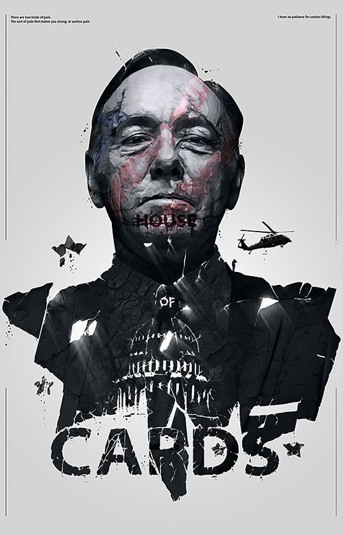 House of Cards Poster Print | #design #series #poster