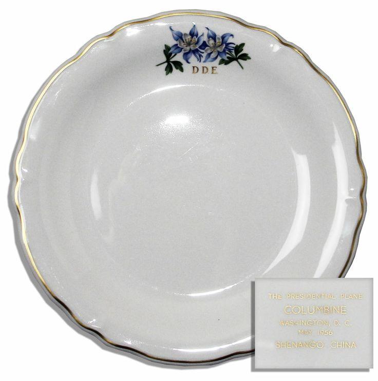 Dwight Eisenhower AF1 Presidential China Dinner Plate