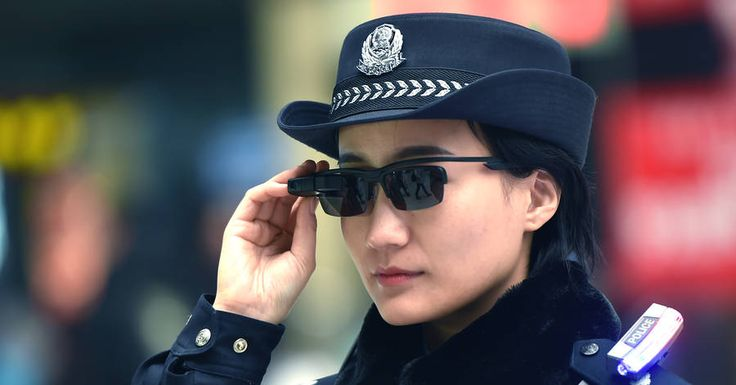 As hundreds of millions of Chinese begin traveling for the Lunar New Year holiday, police are showing off a new addition to their crowd-surveillance toolbox: mobile facial-recognition units mounted on eyeglasses.