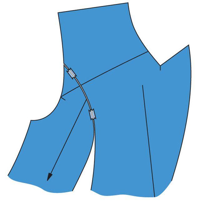Как правильно дублировать детали пальто и жакетов