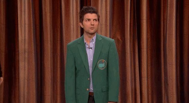 Adam Scott The Actor Hates Adam Scott The Golfer - i love conan