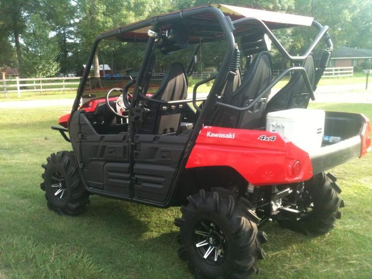 Teryx4 Bone stock, Monster trucks, Polaris ranger